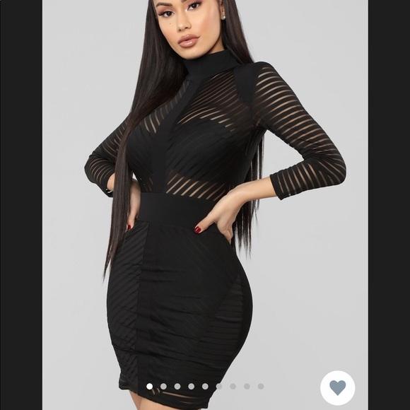 Fashion Nova Black dress\u203c️ NWT